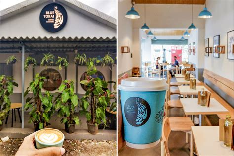 My current go to for coffee in the morning because it's sort of on the way. Blue Tokai Has Opened Its Next Cafe In Versova | LBB, Mumbai