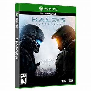 Xbox One Halo 5: Guardians + Limited Edition Master Chief ...