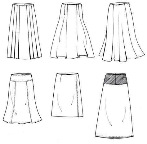 womens skirt flat drawings fashion shirts