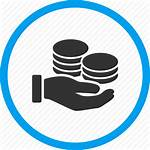 Business Icon Donate Salary Finance Payment Bank