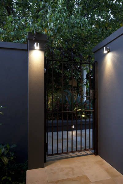ideas  fence lighting  pinterest pathway