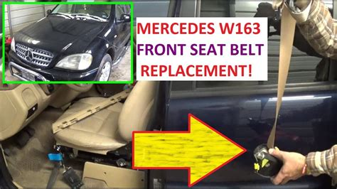 seat belt replacement mercedes  ml ml ml