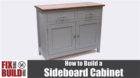 build kitchen cabinets diy sideboard cabinet how to build 1854
