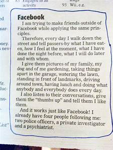 Facebook In Real Life | Funny Pictures and Quotes