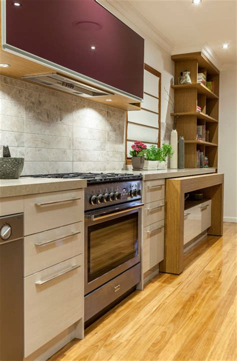 space saving kitchen islands space saving kitchen island with pull out table homesfeed 5636