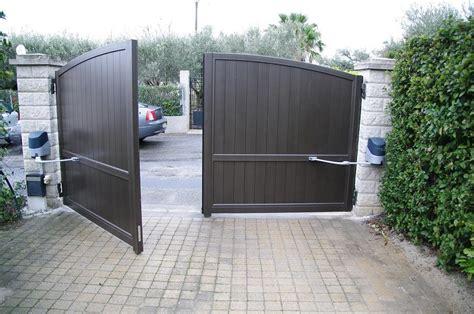 portail automatique ouverture exterieure portes portails sofernim 224 caissargues