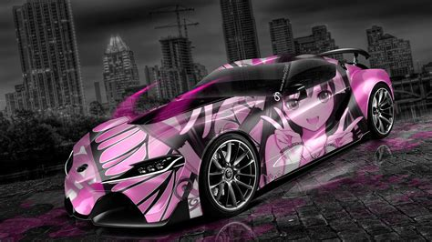 Anime Wallpaper Design - toyota ft 1 anime aerography city car 2014 el tony