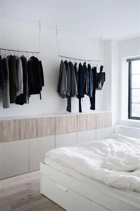 Bedroom Clothes by 25 Best Ideas About Hanging Clothes Racks On
