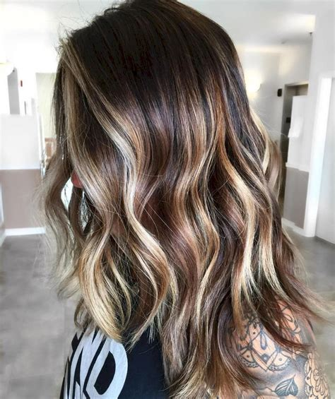 beautiful brunette balayage hair color ideas  style