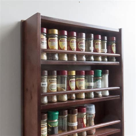 Wholesale Spice Racks by Wooden Spice Rack Closed Top 4 Tiers Wooden Bar 72