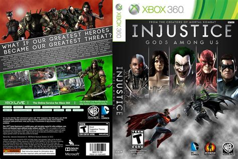 injustice gods among us cover games covers injustice gods among us cover xbox 360