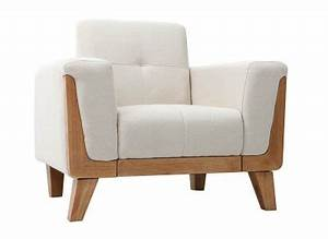 Fauteuil Scandinave Blanc : fauteuil design fauteuil club design et chesterfield design pas cher miliboo ~ Teatrodelosmanantiales.com Idées de Décoration