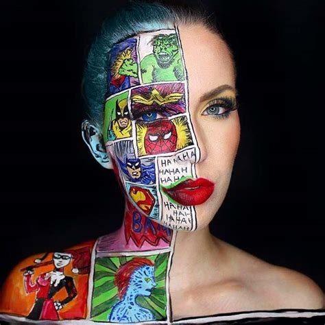 mind blowing halloween makeup  page    stayglam
