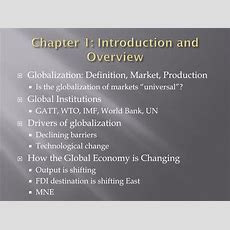 Ppt  Introduction To International Business Introduction And Overview National Differences In