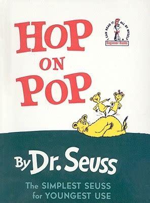 hop  pop  dr seuss