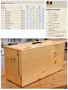 how to build a toy box from wood