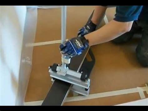 cutting pergo flooring how to cut laminate flooring when you are installing laminate floor youtube