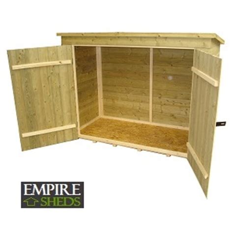 6x3 Shed Tongue And Groove by Empire Bike Store Pressure Treated Tongue And Groove