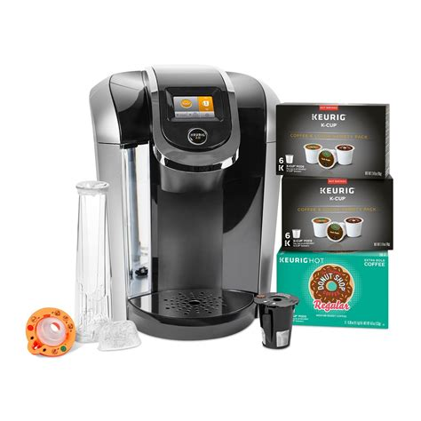 The best keurig pods mimic the flavor of fresh coffee, but churn out a cup much faster, without the mess of heating water and measuring grains. Keurig K425S Coffee Maker with 24 K-Cup Pods & Reusable K-Cup 2.0 Coffee Filter - Filter Coffee ...