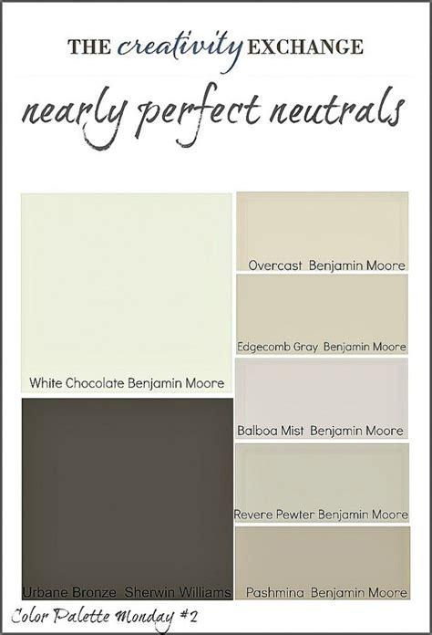 transitional paint color palette color palette monday 3