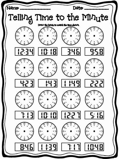 Telling Worksheets Grade 2nd Worksheet Pdf Clock