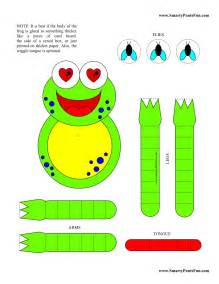8 Best Images Of Printable Preschool Summer Crafts  Kids Printable Craft Templates, Free