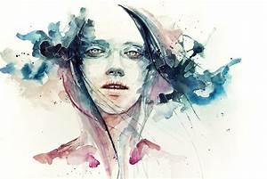 dessin et peinture video 624 de l39aquarelle pour un With amazing commenter obtenir les couleurs 3 photos de mode femme love
