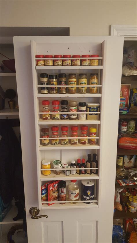 Pantry Door Spice Racks by Pantry Ideas Diy Door Spice Rack Shanty 2 Chic