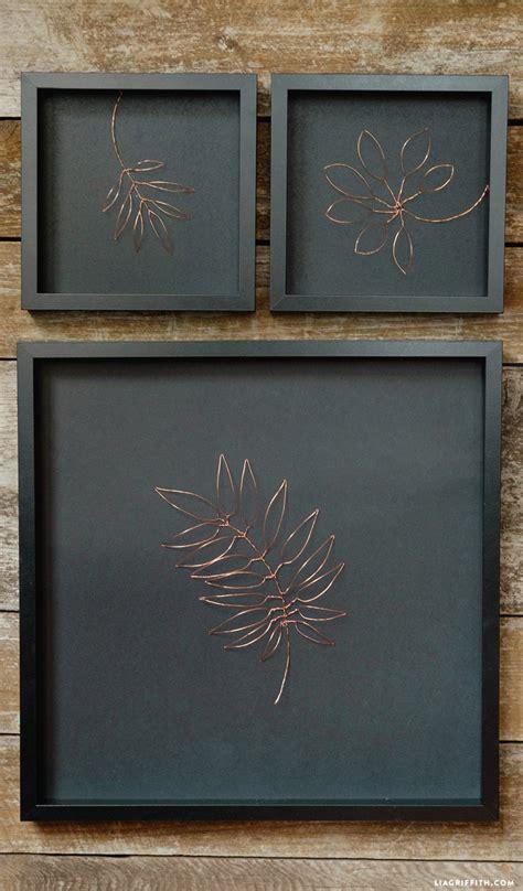 botanical copper wall art lia griffith