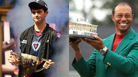 fortnite world champion bugha beats tiger woods