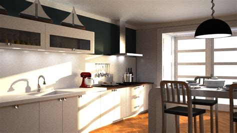 Maxwell Texturing And Rendering Kitchen With 3ds Max