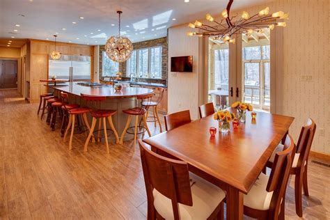 unique kitchen tables traditional with glass front