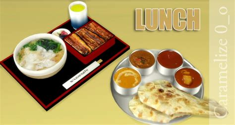 Lunch Clutter At Caramelize Sims 4 Updates