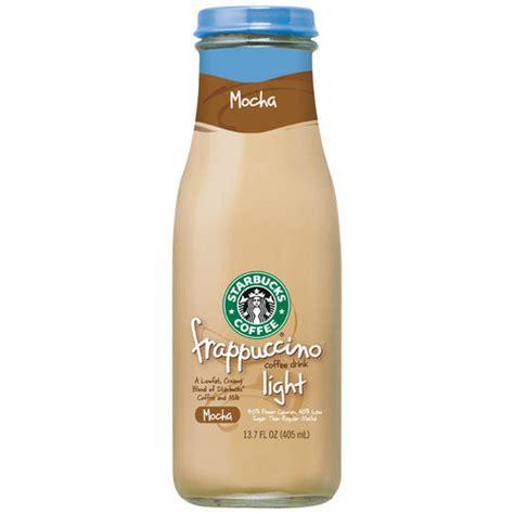 Starbucks dark roast ground coffee — french roast — 100% arabica — 1 bag (28 oz.) amazon's choice for starbucks coffee. Starbucks Frappuccino Light Mocha Coffee Drink, 13.7 fl oz - Walmart.com - Walmart.com