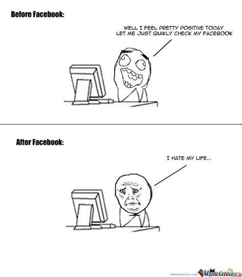 Depressed Meme Face - facebook depression by sheeppusher meme center
