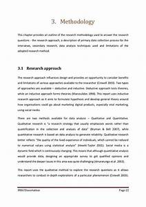 how to write methodology of research
