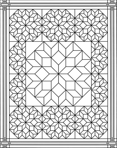 quilt coloring pages    print
