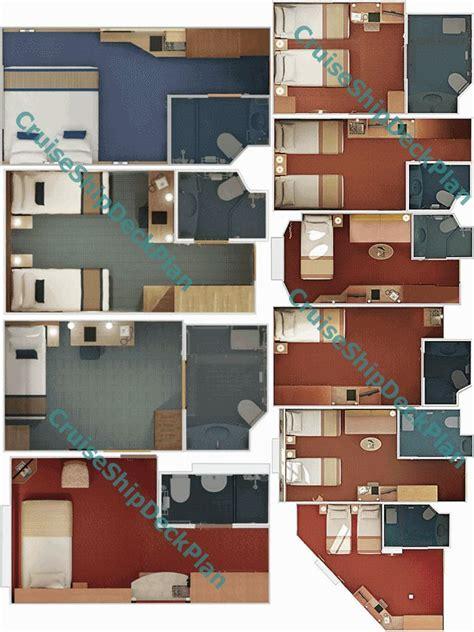 cabins floor carnival inside cabins floor plans carnival