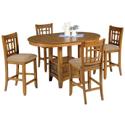 santa rosa end table 25 pub4260 liberty furniture santa rosa oak pub table oak