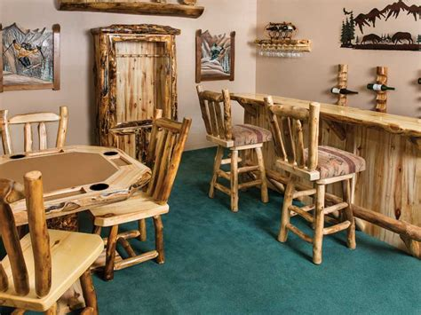 rustic log furniture  utah furniture cabin decor
