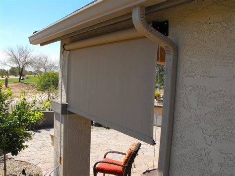 Outdoor Shades For Patio by Roll Blinds For Patio Images