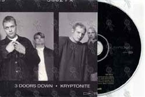 three doors kryptonite 3 doors kryptonite cd single ep records