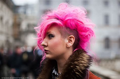 Color Punk And Rock Hairstyles For Women