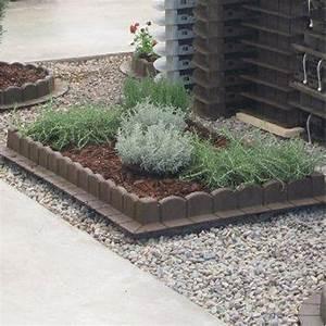 Bordure Plastique Jardin : bordure d 39 angle plastique gris x cm leroy merlin ~ Premium-room.com Idées de Décoration