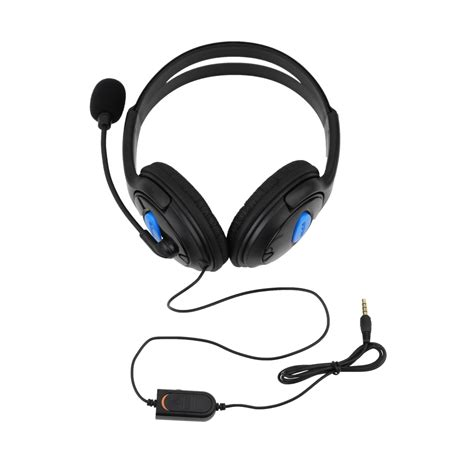 bestes headset ps4 deluxe headset headphone with microphone volume for ps4 controller pc de ebay