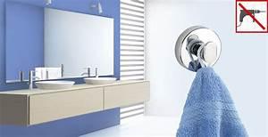 Sader Fixer Sans Percer : beautiful tablette salle de bain sans percer images ~ Dailycaller-alerts.com Idées de Décoration