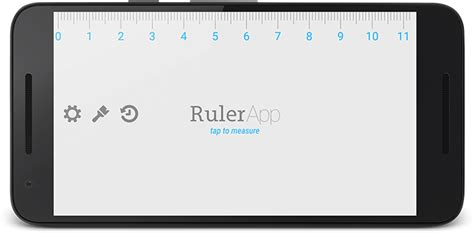 ruler on phone ruler app for android measure length with your phone