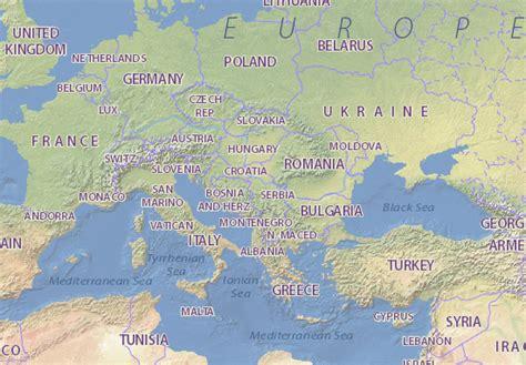 Serbia map - maps, interactive maps - ViaMichelin