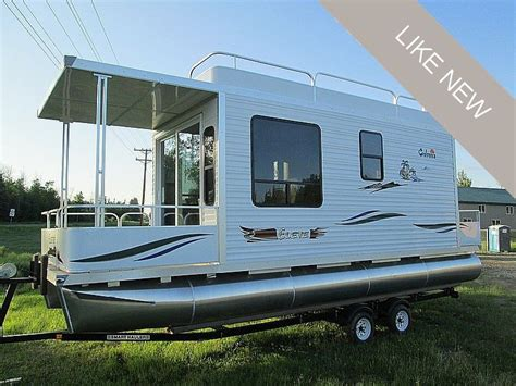 Mini Pontoon Boats For Sale Ontario by Small Houseboats For Sale Quilts Boats Small