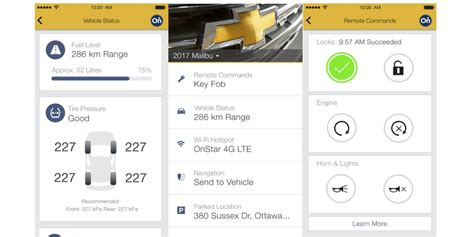 Mychevrolet Iphone App Adds Apple Watch Support, 'energy